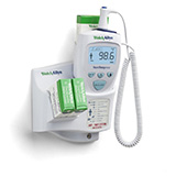 Welch Allyn SureTemp Plus 692 Electronic Thermometer, Wall Mount, 9 ft Rectal Probe. MFID: 01692-301
