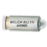 Welch Allyn 3.5v Halogen Replacement Lamp for 11720, 11730, 11735 Ophthalmoscopes. MFID: 04900-U