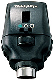 Welch Allyn 3.5v Halogen Coaxial Autostep Ophthalmoscope Head. MFID: 11730