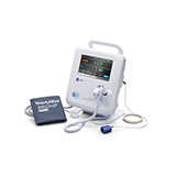 Welch Allyn SPOT 4400 Vital Signs Monitor with NIBP, SureTemp Thermometer, and Nonin SpO2. MFID: 44WT-B