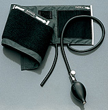 Welch Allyn ADULT Inflation System, 2-Tube Bag, for 767 Wall/Mobile Sphygmomanometers. MFID: 5082-22
