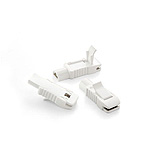 Welch Allyn ECG Multifunction Electrode Adaptors (Alligator Clips), set of 10. MFID: 715006