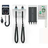 Welch Allyn GS 777 Wall Set, Specula Dispenser, Wall Sphygmomanometer, SureTemp. MFID: 77710-TAKX