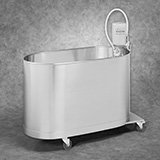 Whitehall Hi-Boy Mobile Whirlpool- H Series- 105 Gallons . MFID: H-105-M