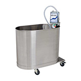 Whitehall Hi-Boy Mobile Whirlpool- H Series- 60 Gallons . MFID: H-60-M