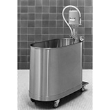 Whitehall Hi-Boy Mobile Whirlpool- H Series- 75 Gallons . MFID: H-75-M