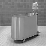Whitehall Hi-Boy Mobile Whirlpool- H Series- 90 Gallons . MFID: H-90-M