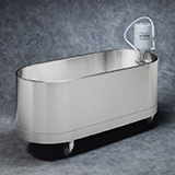 Whitehall Lo-Boy Mobile Whirlpool- L Series- 90 Gallons . MFID: L-90-M
