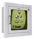 ZOLL Flush Mount Wall Cabinet for AED Plus Defibrillator. MFID: 8000-0811-01