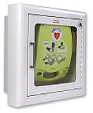 ZOLL Recessed Mount Wall Cabinet for AED Plus Defibrillator. MFID: 8000-0814-01