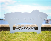 """Believe"" Manger Yard Decor LARGE"