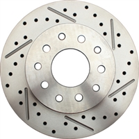 "5560-10RX Universal Rear Ford 9"" / GM 1012 Bolt Pattern Drilled/ Slotted (Passenger Side)"