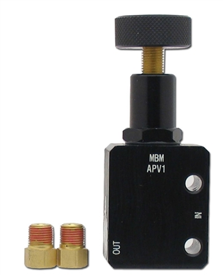 APV-1 - Adjustable Proportioning Valve - Black