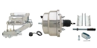 "GMFS1-309 1955-1958 GM Full Size 8"" Dual Chrome Power Brake Booster Conversion Kit"
