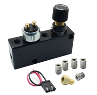 PVC-B - Adjustable Proportioning Valve + Distribution Block