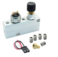 PVC-C - Adjustable Proportioning Valve + Distribution Block 1