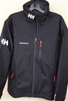 Helly Hansen Crew Midlayer Jacket - BLACK