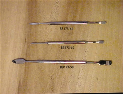 BB-173-58 Wax Spatulas