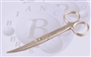 "BB-B-276 Skin Scissor 4 3/4"" 12.1 cm  Curved Sharp Sharp Point"