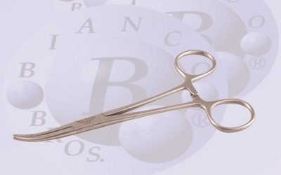 "BB 701  5 1/2"" Curved  Hemostat"
