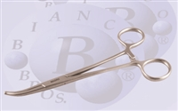"BB 703  6 1/4"" Curved  Hemostat"