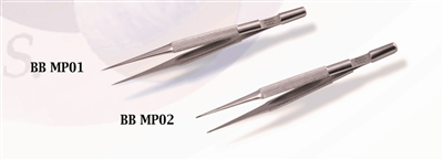 BB MP 02 Micro Precesion Tweezer Slant  Point