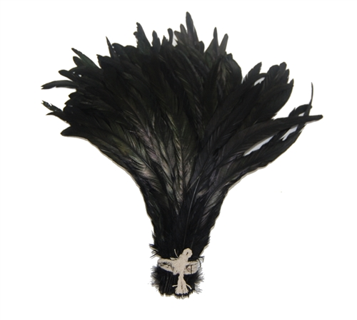 Dyed Black Coque 14-16""
