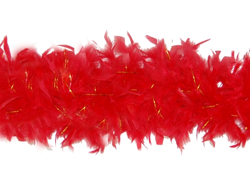 Chandelle Feather Boas with Lurex