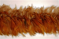 Hackle Boa - Ginger