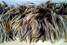 Hackle Boa - Badger