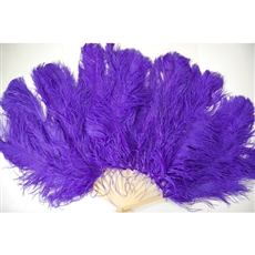 "Ostrich feather Fan 40"" x 30"""