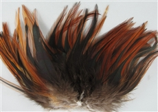 Saddle Fringe - Natural Red