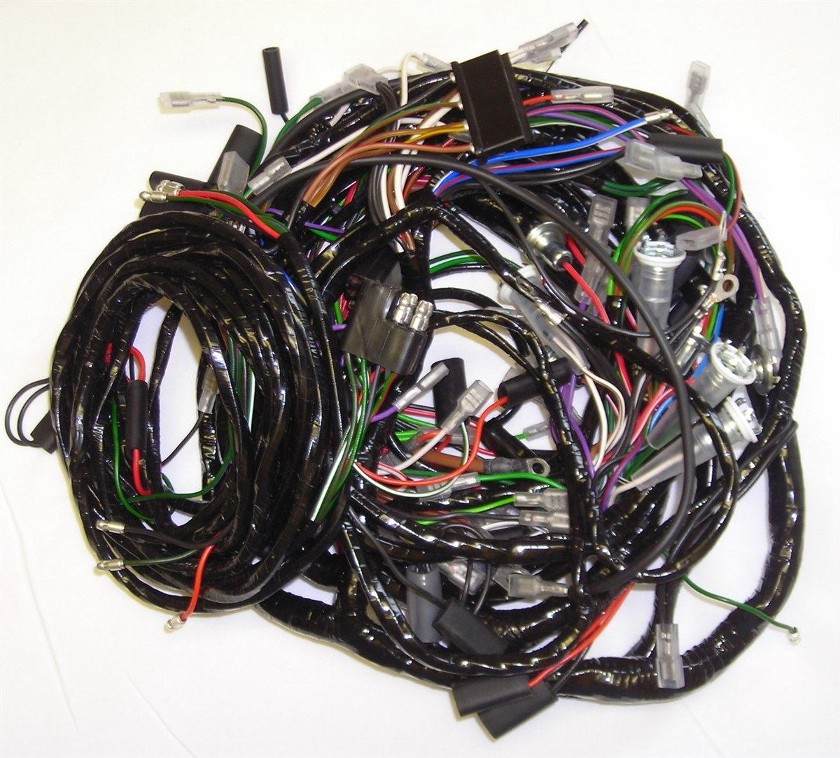 Triumph TR250 Main Harness Kit (1063) on pet harness, engine harness, pony harness, obd0 to obd1 conversion harness, safety harness, suspension harness, multicore cable, direct-buried cable, cable carrier, cable harness, amp bypass harness, dog harness, radio harness, maxi-seal harness, cable reel, electrical harness, alpine stereo harness, cable management, fall protection harness, battery harness, nakamichi harness, oxygen sensor extension harness, cable dressing,