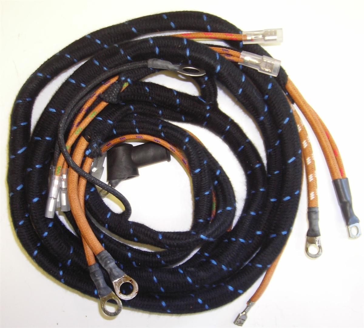 Jaguar Alternator Wiring Harness