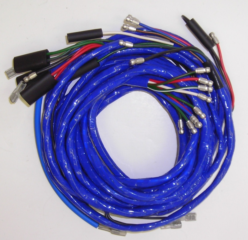 Body Wiring Harness Sprite Mk 4 Mg Midget Ethernet