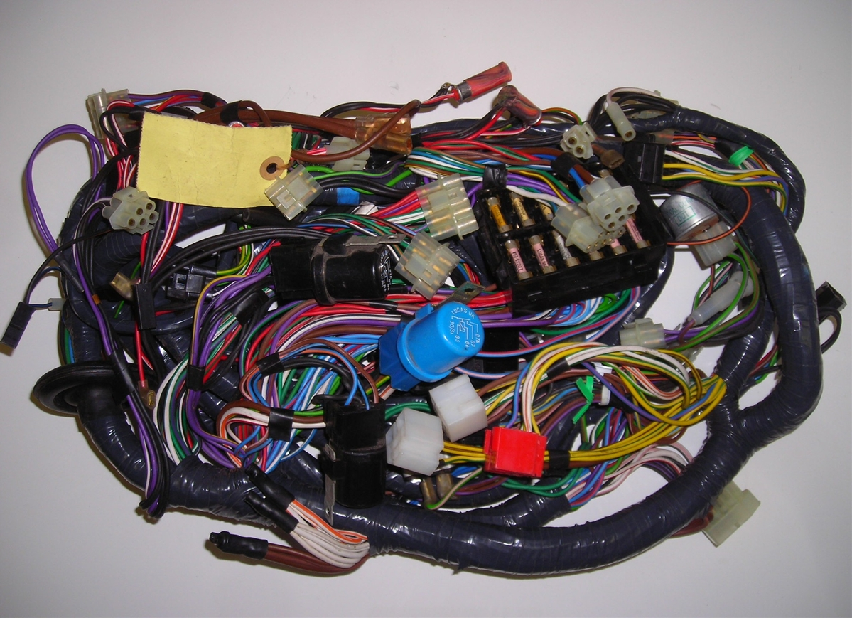 Wiring Harness Triumph Tr8 Trusted Diagram Tr7 Main Hardtop
