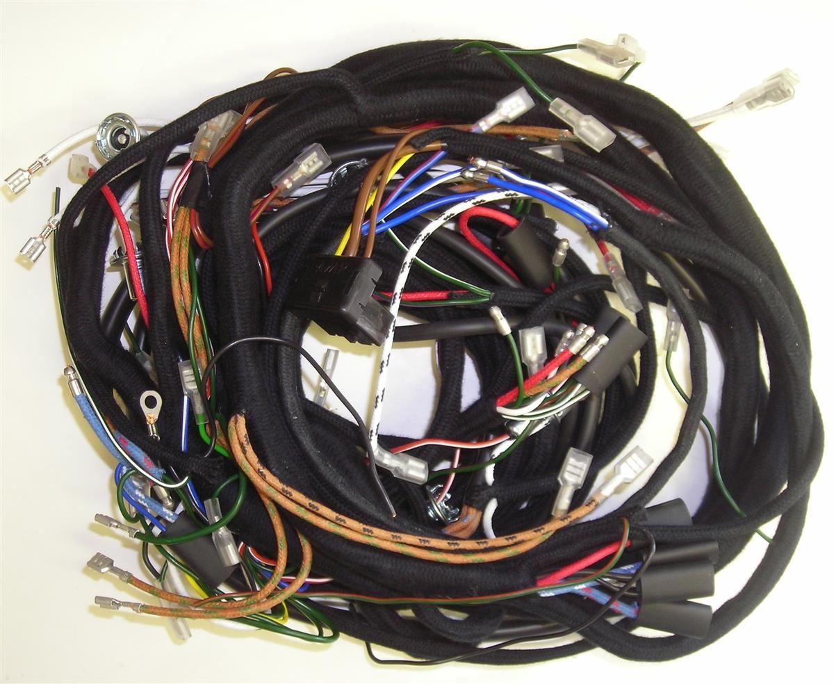 [DIAGRAM_09CH]  1959 - 1962, Mk1 Mini & Austin 7, Braided Harness w/ Alternator Conversion  (321ALT)   Alternator Conversion Wiring Harness      British Wiring