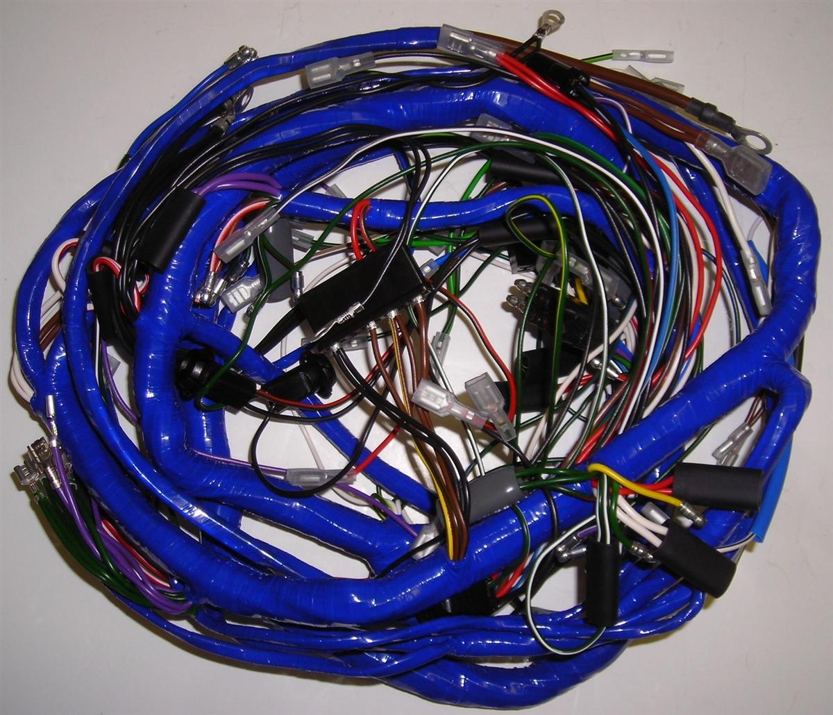 Mgb Wiring Harness Diagram Will Be A Thing 1999 Silverado Routing 1967 68 Main Dash 505 Rh Britishwiring Com