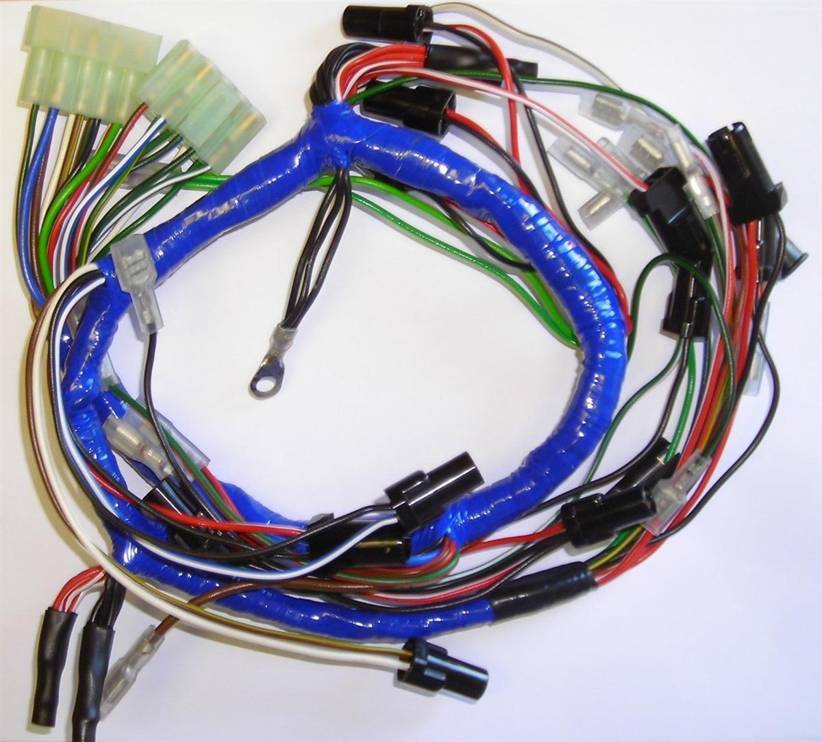 MGB 1975 Dash Wiring Harness (529) Dash Wiring Harness on