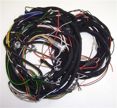 austin healey bn6 1958 wiring harness set pvc cable. Black Bedroom Furniture Sets. Home Design Ideas