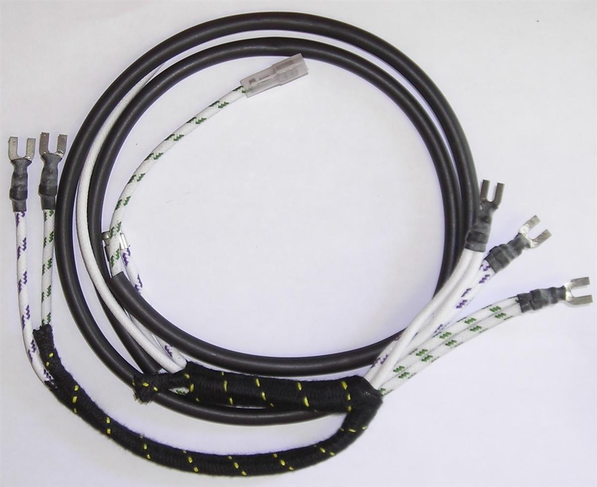 austin-healey bn4 overdrive harness