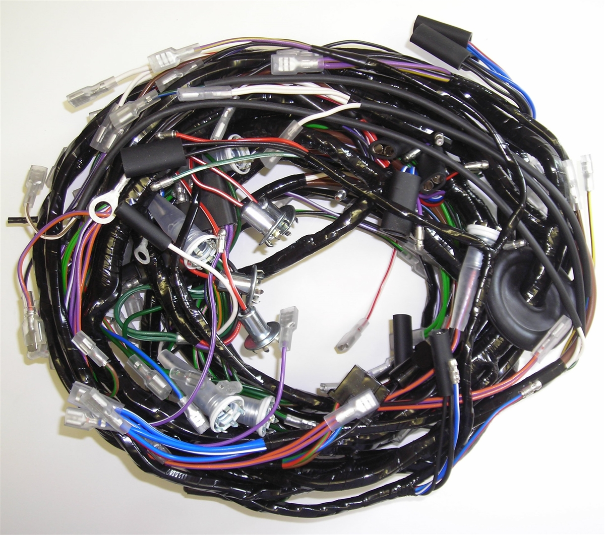 Main Wiring Harness Triumph Tr6 For 1971 Motorcycle