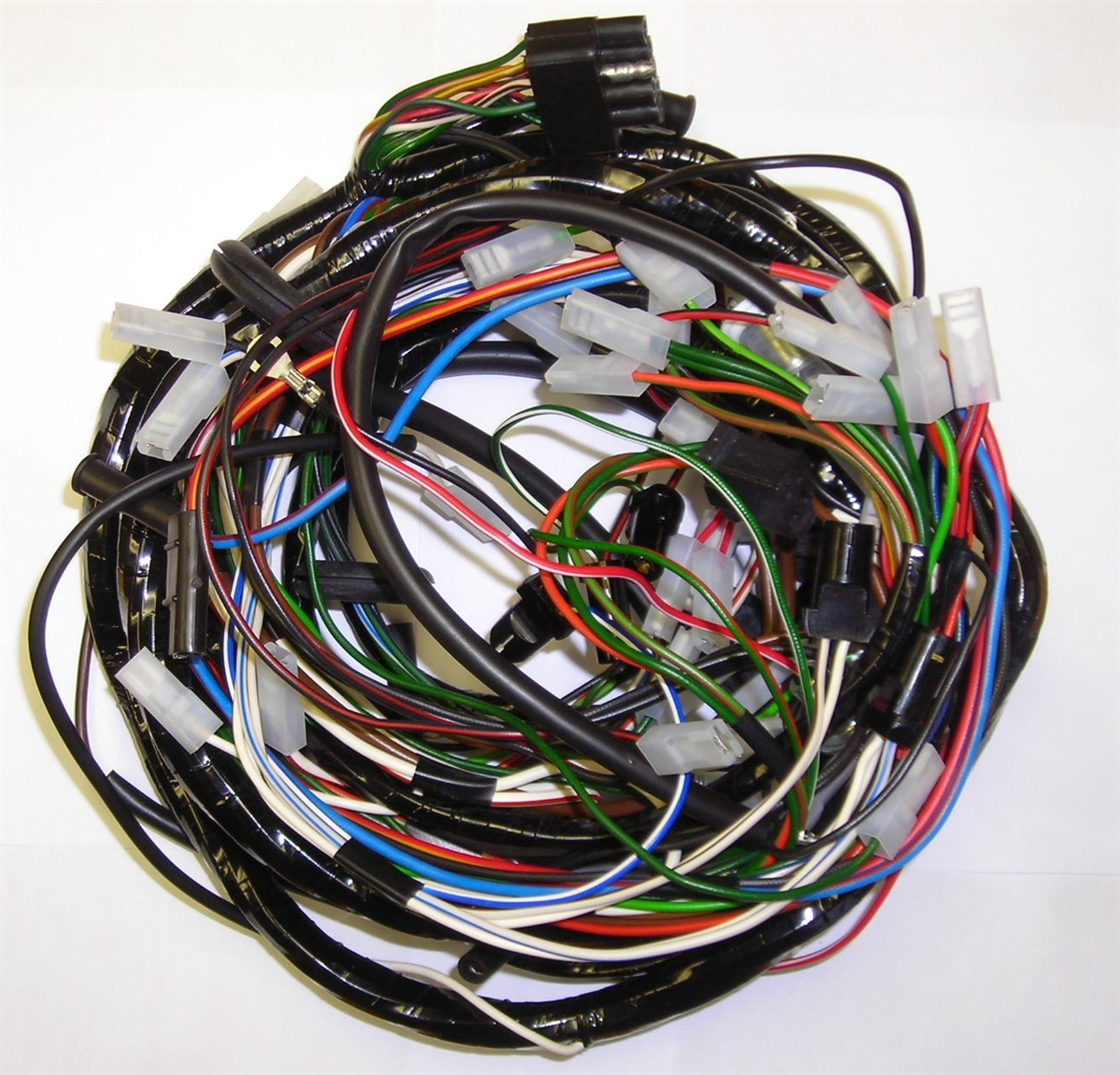 3 Wire Harness Wiring Library Electrical Land Rover Series Main