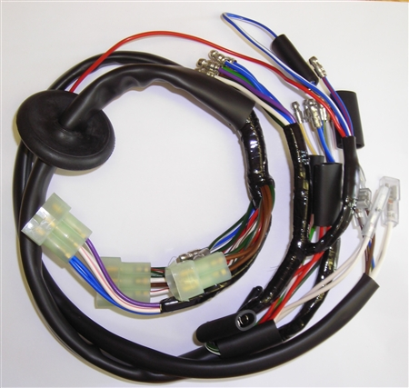 Norton Commando 850cc Mk3 Motorcycle Headlamp Wiring Harness