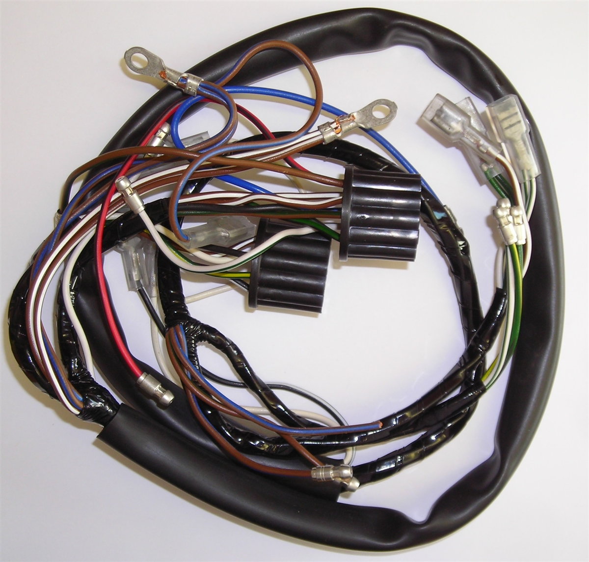 triumph motorcycle wiring harness rh britishwiring com motorcycle wiring harness tape motorcycle wiring harness parts