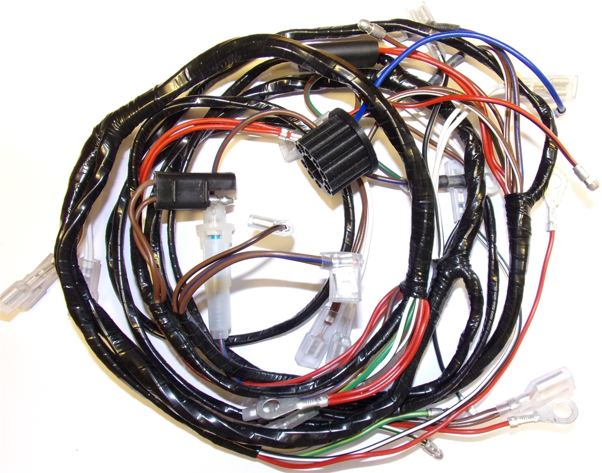1967 BSA B25 & C25 Main Harness (MC153PP) P B Wiring on