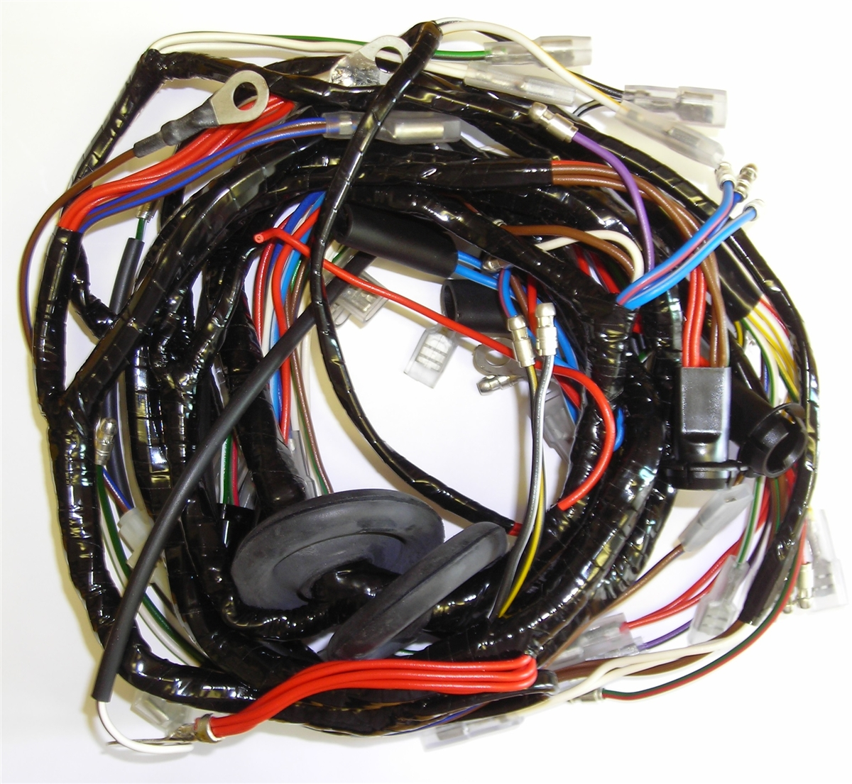 1973-1975 Triumph T120V, T140V, & TR7RV Main Harness (MC71PP) on oxygen sensor extension harness, obd0 to obd1 conversion harness, fall protection harness, engine harness, suspension harness, maxi-seal harness, pony harness, radio harness, alpine stereo harness, safety harness, pet harness, cable harness, electrical harness, battery harness, nakamichi harness, dog harness, amp bypass harness,