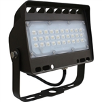 Eiko FLJ-5C-50K-Y-U 50 Watt LED Mini Flood Light - 50 Watt 5000K, Eiko #09616, LED Flood #09616, Litespan LED Flood #09616, FLJ-5C-50K-Y-U