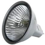 EXN/FG/SILVER (50W/12V) FLOOD SILVER BACK MR16 WITH LENSE