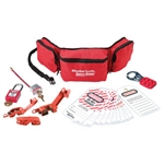 Master Lock 1456E410 - Personal Lockout Pouch Kit (Electrical), Lockout/Tagout Kit, Master Lock#1456E410